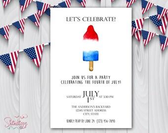 memorial day invite etsy