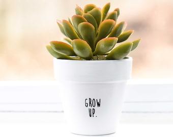 Grow Up | Plant Pot