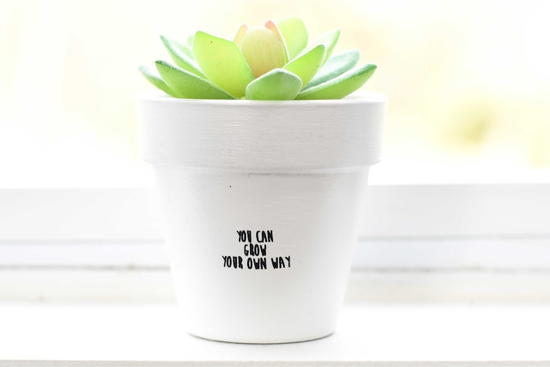 You Can Grow Your Own Way  Plant Pot image 1