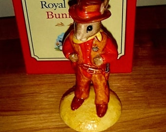 Royal Doulton Bunnykins Cowboy - Ltd Edition - DB201