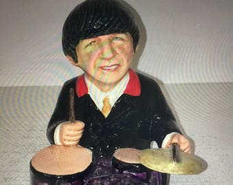 Manor Collectables Beatles Ringo Starr Limited Edition Toby Jug 568 of 1963