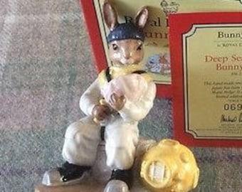 Royal Doulton Deep Sea Diver Bunnykins - Boxed - Limited Edition 0693 0f 3000