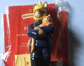 Royal Doulton Bunnykins Professions Collection - Fireman