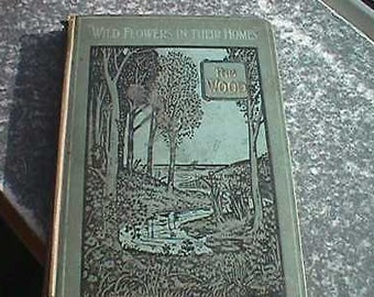 Vintage Hardback - Wild Flowers in their Homes - published by T. Werner Laurie