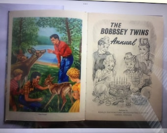 Vintage - The Bobbsey Twins Annual