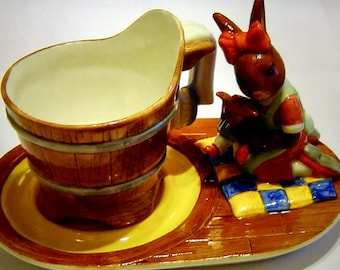 Royal Doulton Bunnykins Miss of the Manor Ltd Edition Cup and Saucer - Country Manor Teaset - No 337