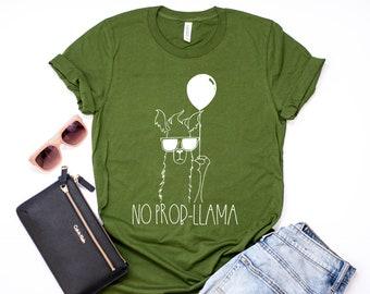 d663eafef Llama shirt, No-prob llama shirt, No drama llama shirt, save your drama for  your llama shirt, Llama T-shirt, llama shirt, no drama llama tee