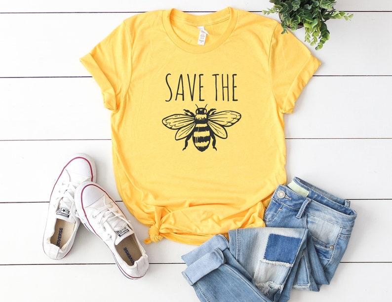 58ecf73b Save the bees shirt save the Bees t-shirt Bee shirt | Etsy