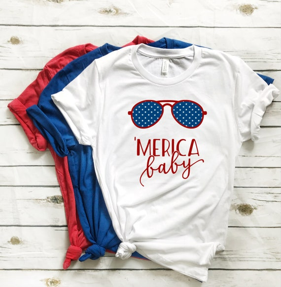 14915474 MERICA baby shirt 4th of July shirt 'Merica shirt | Etsy