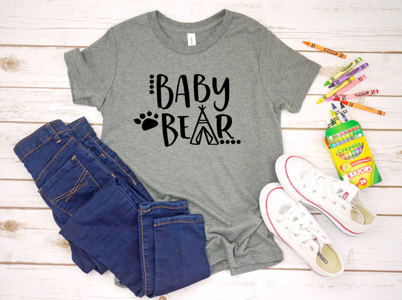 c2395d15d308 Baby Bear shirt baby bear t-shirt kids baby bear shirt | Etsy