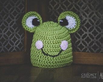 fe298dfae77 Teen frog hat