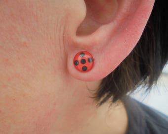 Miraculous Ladybug earrings