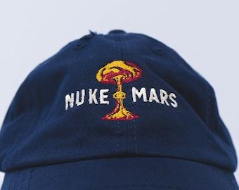 Nuke Mars retro dad hat  (+ free shop sticker)