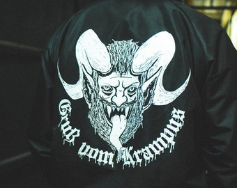 Krampus windbreaker (+free shop sticker)