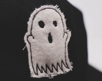 Cloth Ghost // hand cut cap