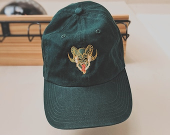 Krampus classic dad hat (+ free shop sticker)