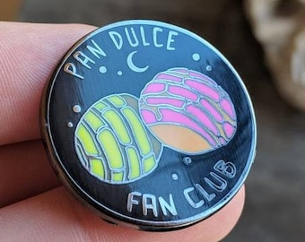 Pan Dulce Fan Club enamel pin - 1.25""