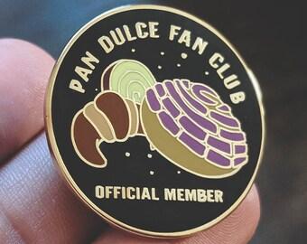 "Pan Dulce Fan Club enamel pin - 1.25"" (NEW DESIGN)"
