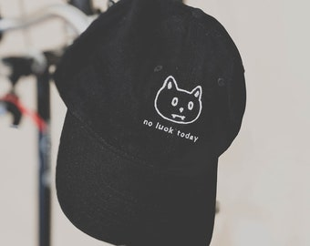 No Luck Today hat (+ free shop sticker)