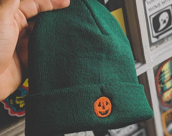 Anchorage fitted Beanie in Classic Pumpkin