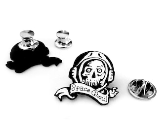 "Space Ghoul Enamel Pin - 1"" (2.54 cm)"