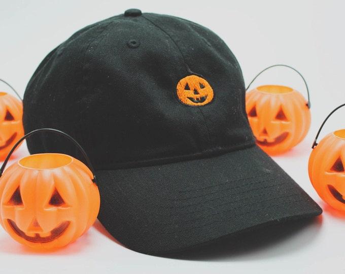 Featured listing image: Classic Pumpkin hat (+ free shop sticker)