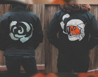 Space Ghoul x Ghost Spiral Bundle windbreakers (limited quantity)