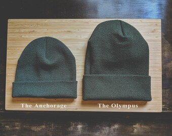 The Anchorage & The Olympus Beanie (blank)