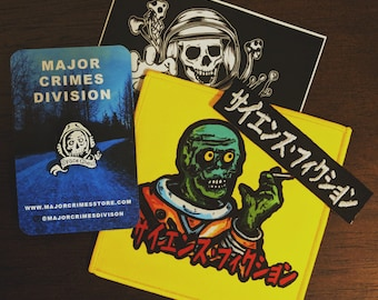 Ghoul Bundle (Enamel Pin, two Patches and sticker)