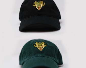 Krampus classic dad hat (+ free shop sticker)