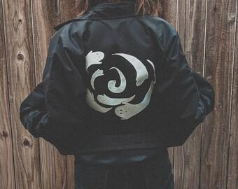 Ghost Spiral windbreaker