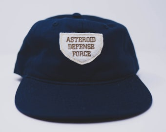 Asteroid Defense Force cap // retro style (+ free shop sticker)