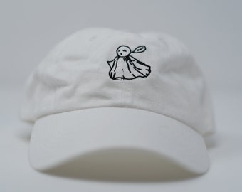 Handmade Ghost hat (limited run of 24 + free shop sticker)