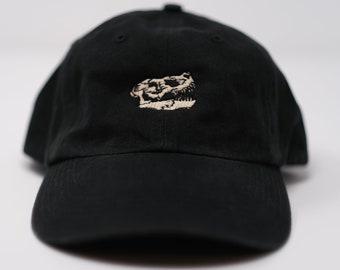 T-Rex Skull dad hat (+ free shop sticker)