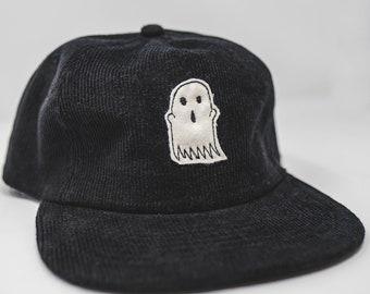 Limited Run Corduroy Cloth Ghost // hand cut cap