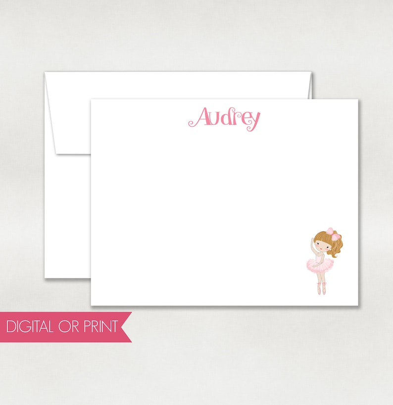 picture regarding Note Cards Printable referred to as Ballerina Thank On your own, Ballerina Take note Card, Released Flat Notice Card, Printable Notice Card, Customized Take note Card, Back again Structure Involved