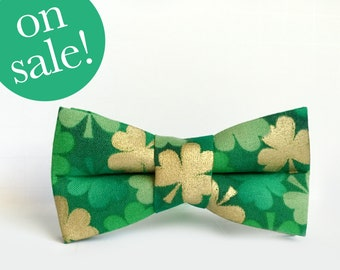 st. patrick's day bow tie for dogs and cats