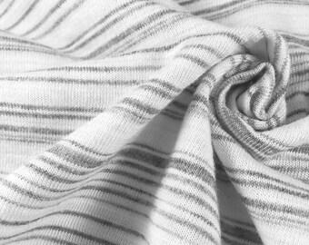 Poly/Cotton/Rayon Variegated Stripe Jersey