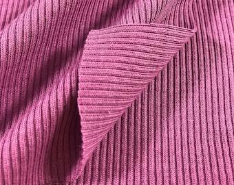 2x1 Poly Cotton Rib (Lightweight)