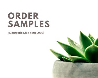 Sample package- Up to 5 swatches