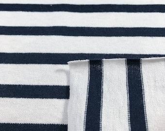 100% Cotton Stripe Jersey