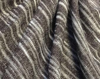 Sweater Knit Slub Jersey with Spandex ( Full Roll )