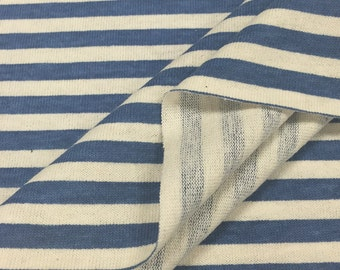 100% Cotton Printed Stripe Jersey