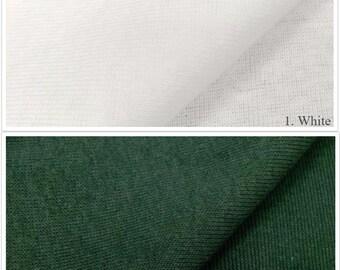 100% Cotton 1x1 Rib (Vintage Cotton)