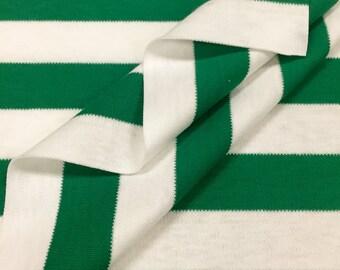 100% Cotton Interlock Stripe
