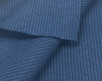 100% Cotton 2x1 Rib