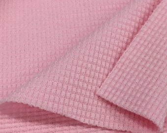 Stretchy Thermal Knit Fabric
