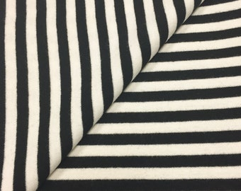 "100% Cotton 1/4"" Stripe 1x1 Rib"