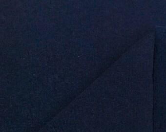 Navy Cotton/Poly Sherpa