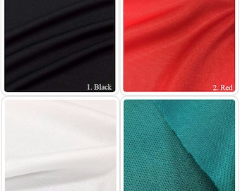 100% Poly Sports Jersey Mesh